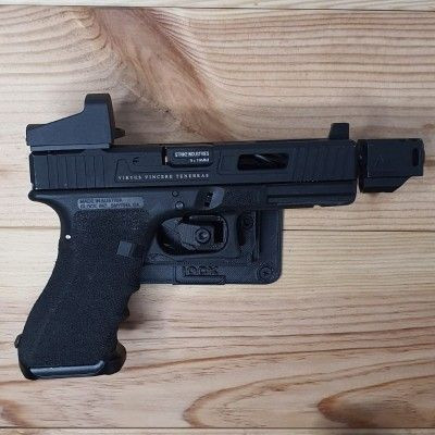 Wall or cabinet cover for Glock models