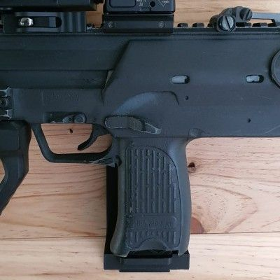 Wall mount or cabinet for Mp7.