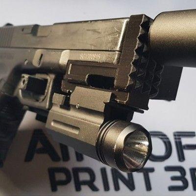 Ris tracer Glock 17, 18
