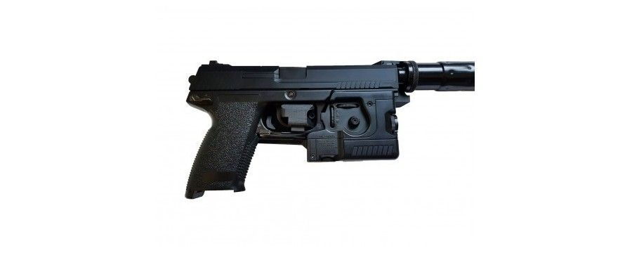 Retention holster for Socom Mk23 and accessories